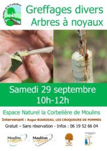 Greffage Arbres à noyaux @ La Corbelière Moulins