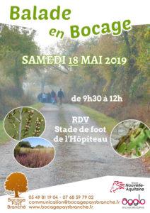 Balade en Bocage @ Les communaux de l'hôpiteau, Boussais