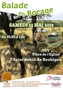 Balade en Bocage @ Saint Aubin de Baubigné