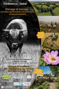 Conférence-débat : élevage et bocage @ La Commanderie des Antonins à Saint-Marc-la-Lande. | Saint-Marc-la-Lande | Nouvelle-Aquitaine | France